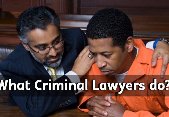 What Criminal Lawyers do