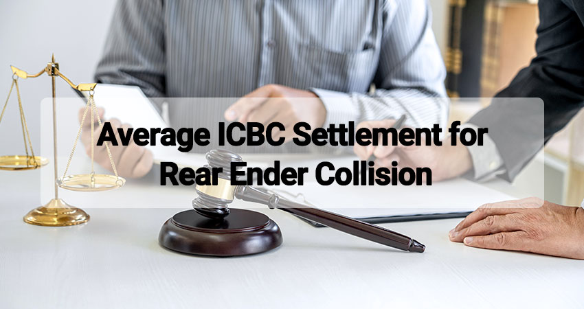 icbc settlement for rear ender